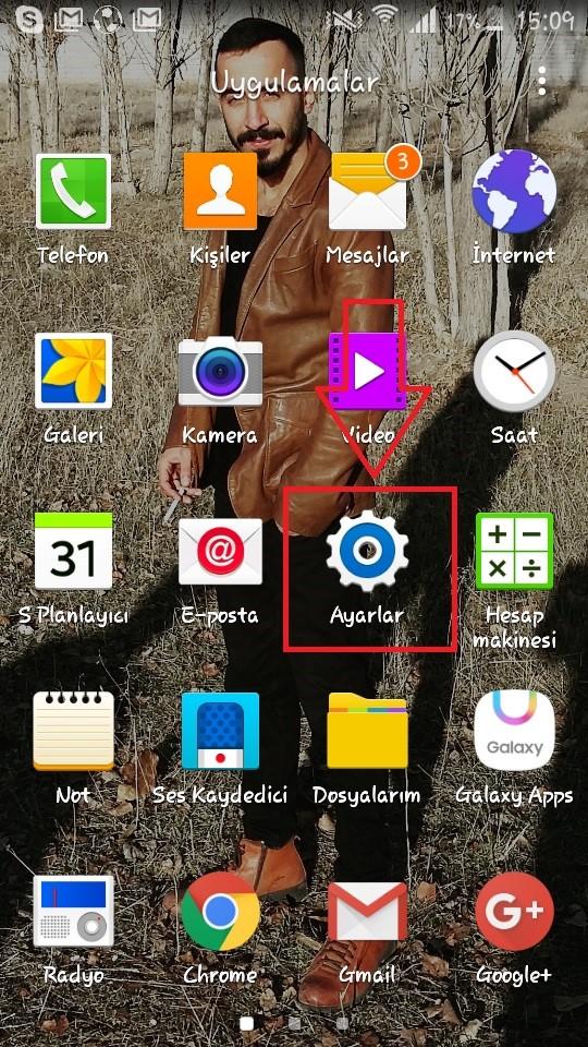 'Samsung Galaxy A3' Yedekleme ve Sıfırlama (Resimli Anlatım)