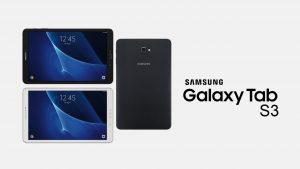Samsung'un Yeni Tableti 'Galaxy Tab S3'
